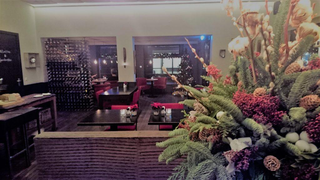 Brasserie Berlage interieur Kerst