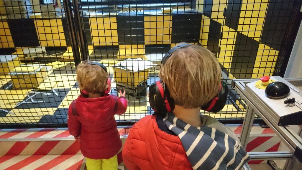 Science Center Delft - aardbeving