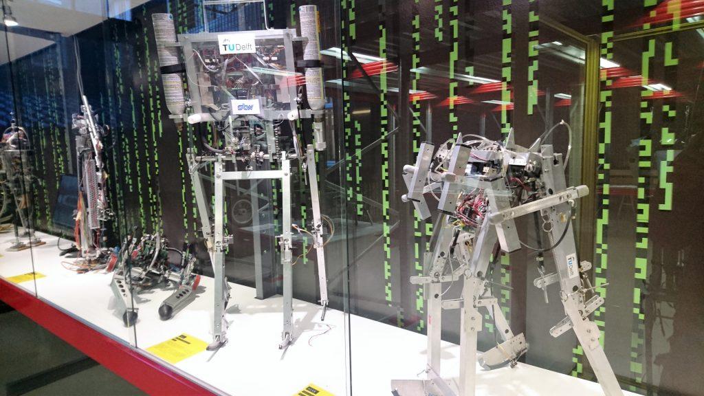 cience Center Delft - robots