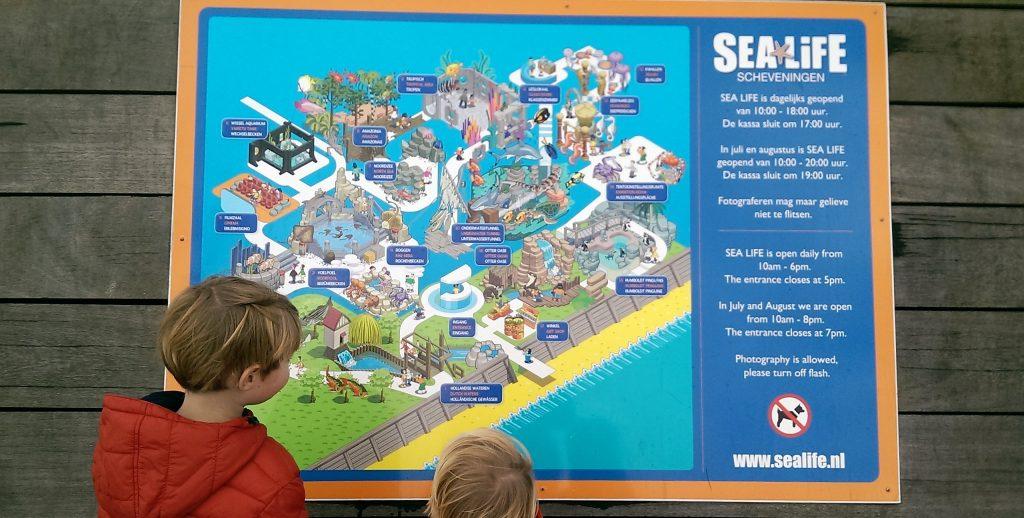 Sea life kaart
