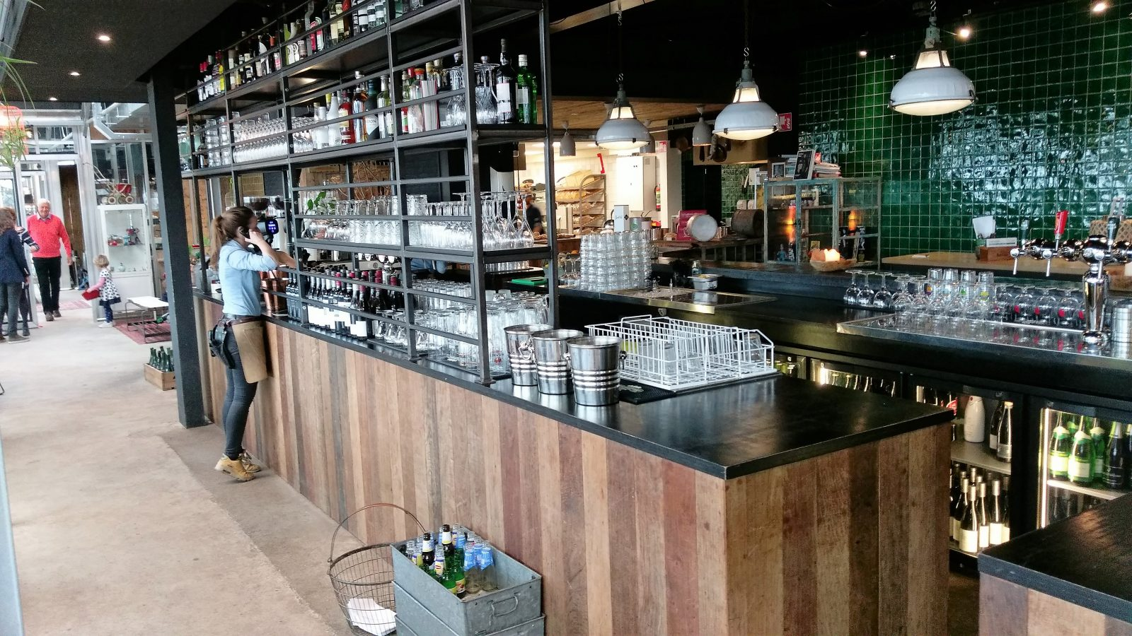 Brasserie Buitenhuis bar