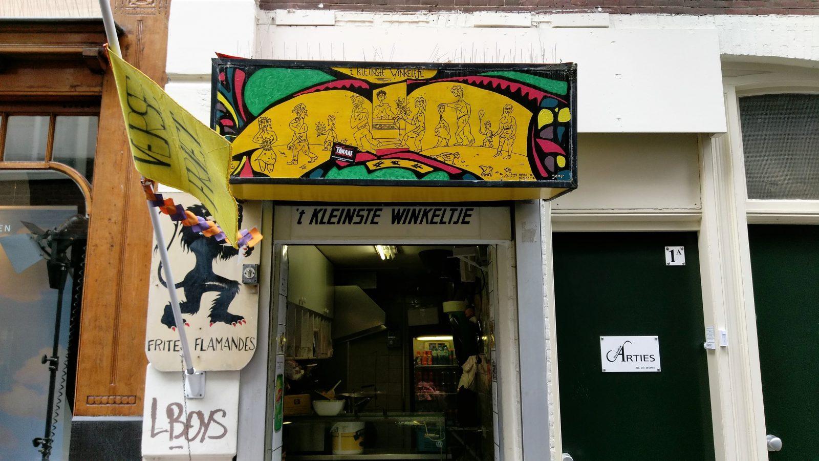Kleinste winkeltje