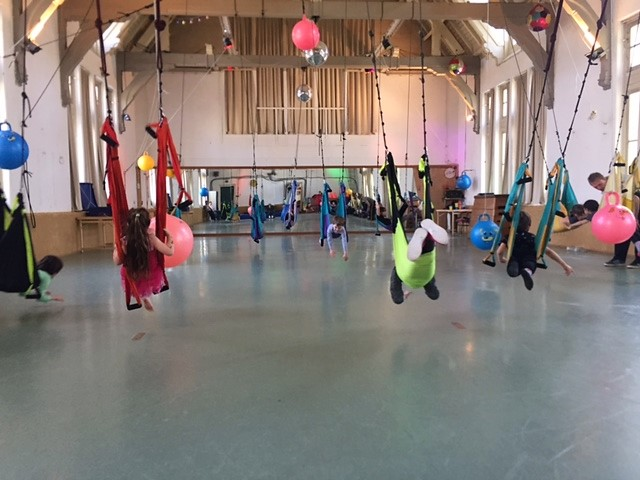 gymzaal Fun swing