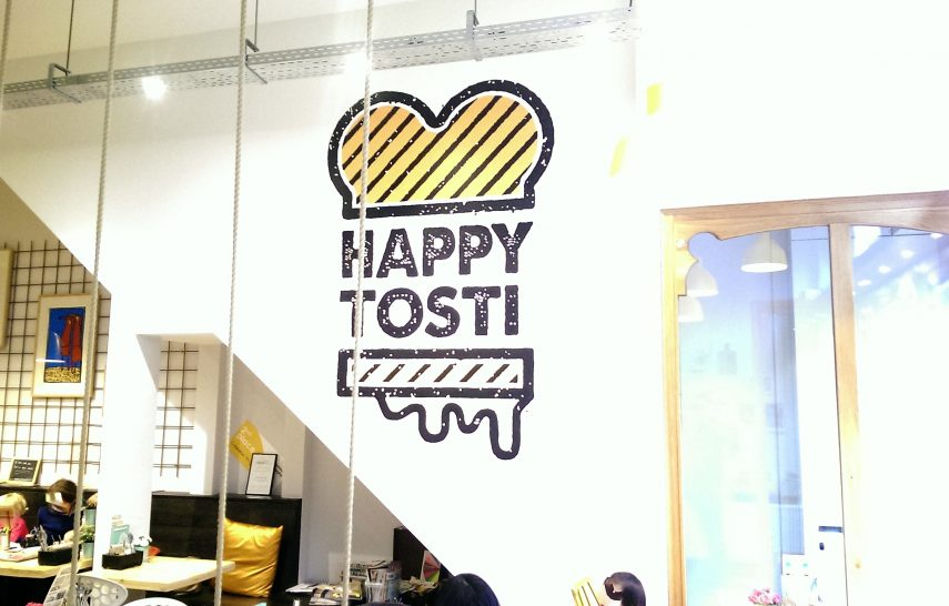 Happy tosti