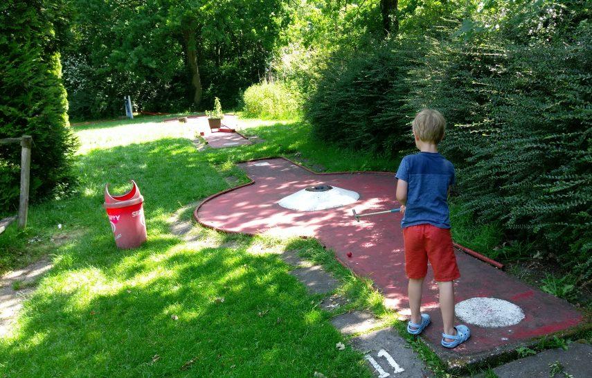 midgetgolf Zuiderpark