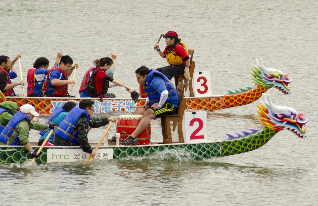 Veteranendag - dragonboat