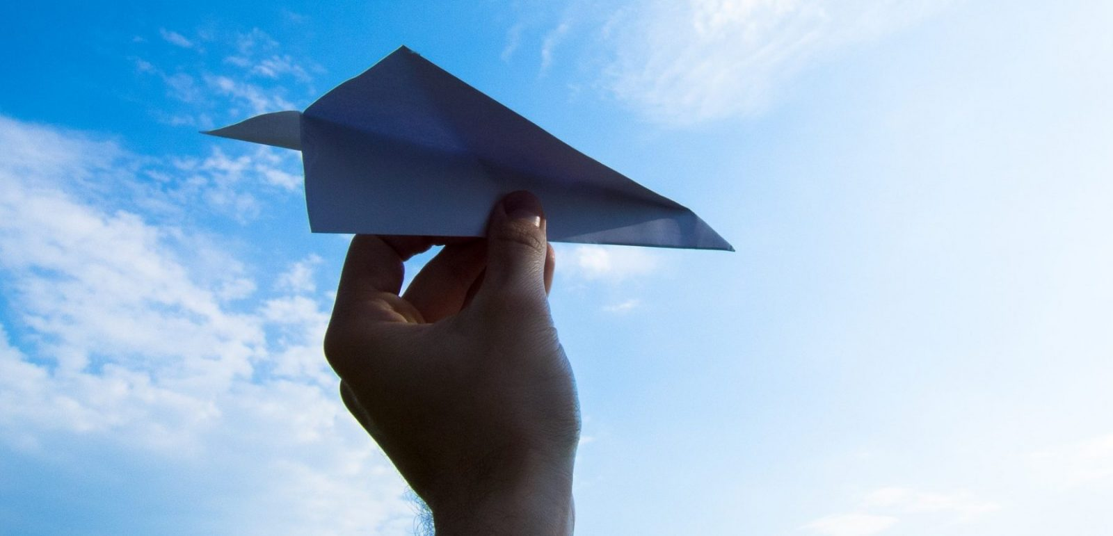papier vliegtuig