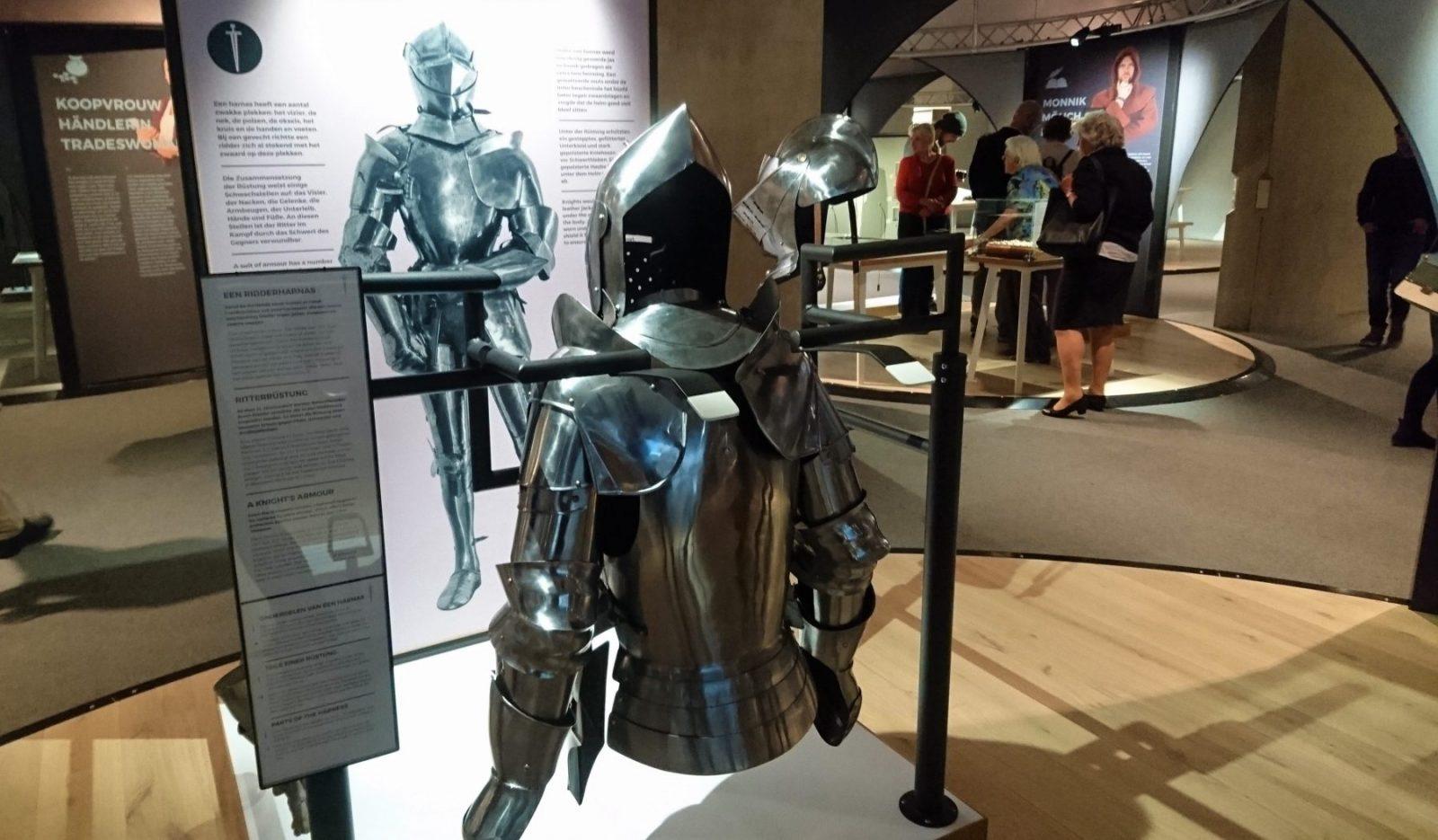Ridders en kastelen in het museon ranja en ros for Werkbladen ridders en kastelen