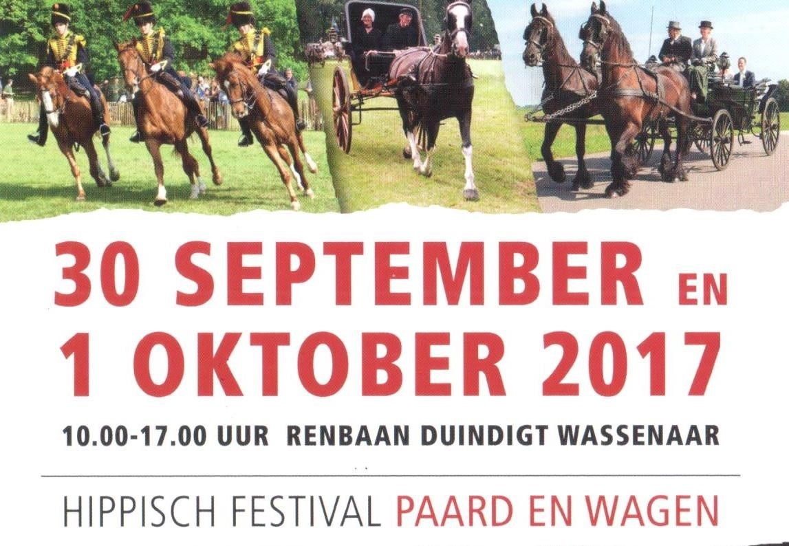 Weekend 30 september en 1 oktober