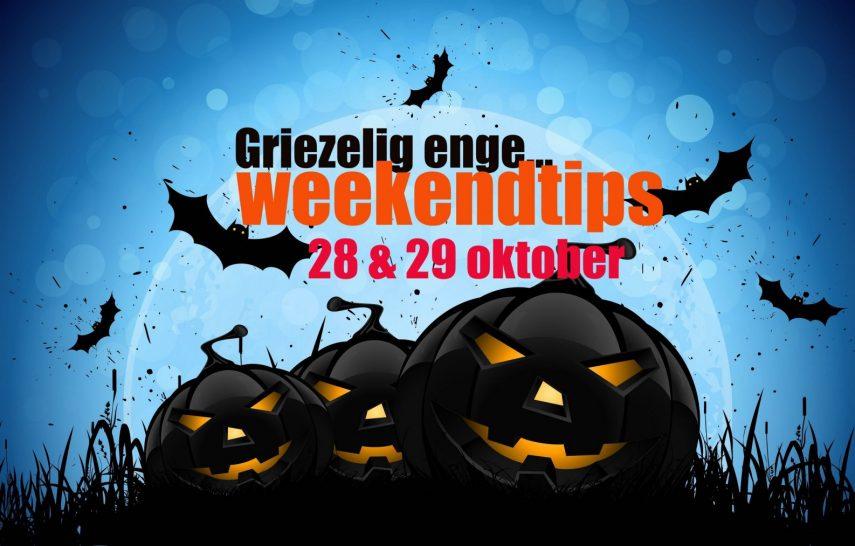 Halloween griezelen met tekst 2