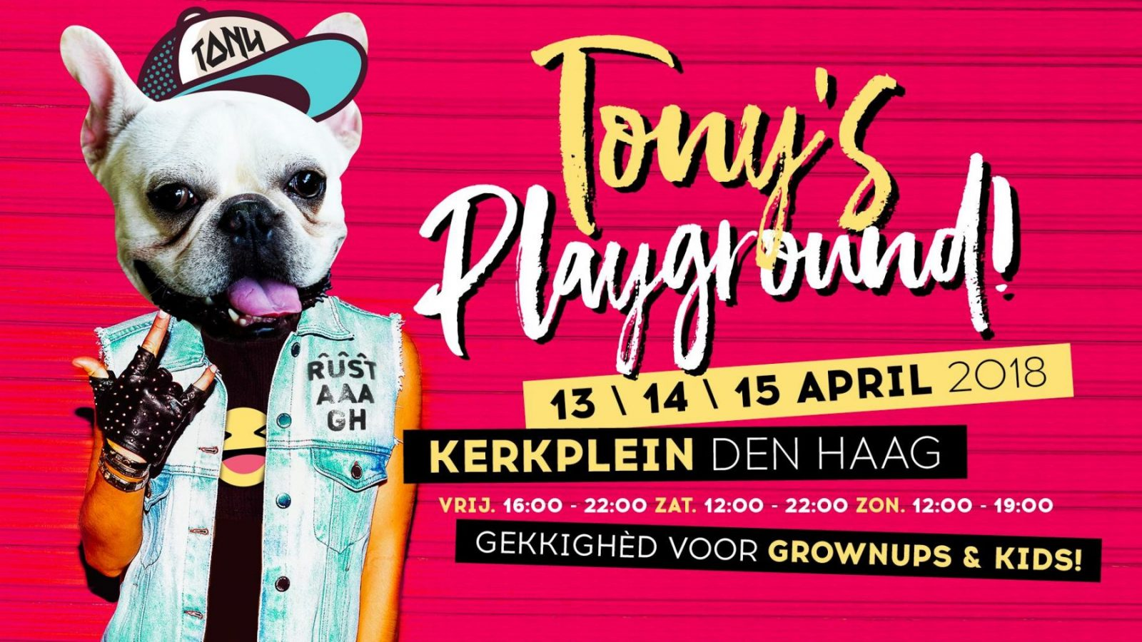 Tony's Playground 14 en 15 april