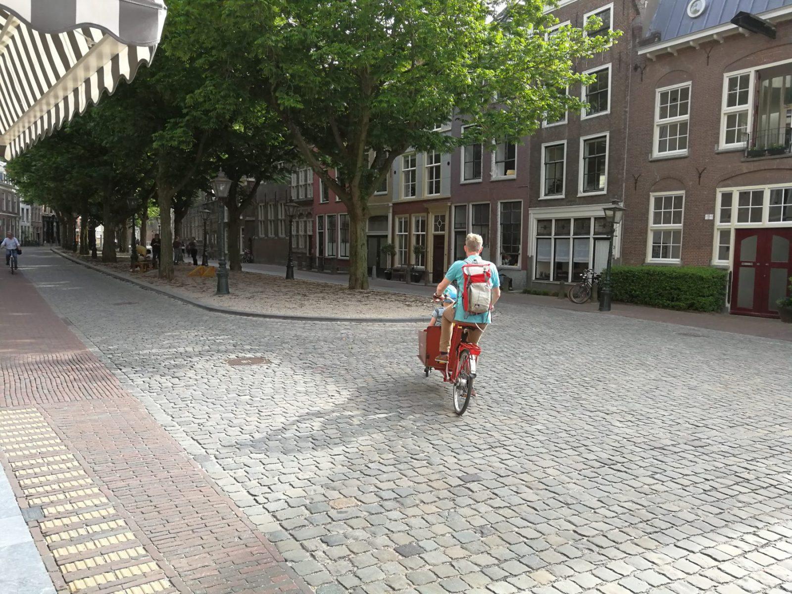 Fietsen in Leiden