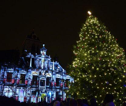 Stadhuis_Delft_lichtjesavond_2014