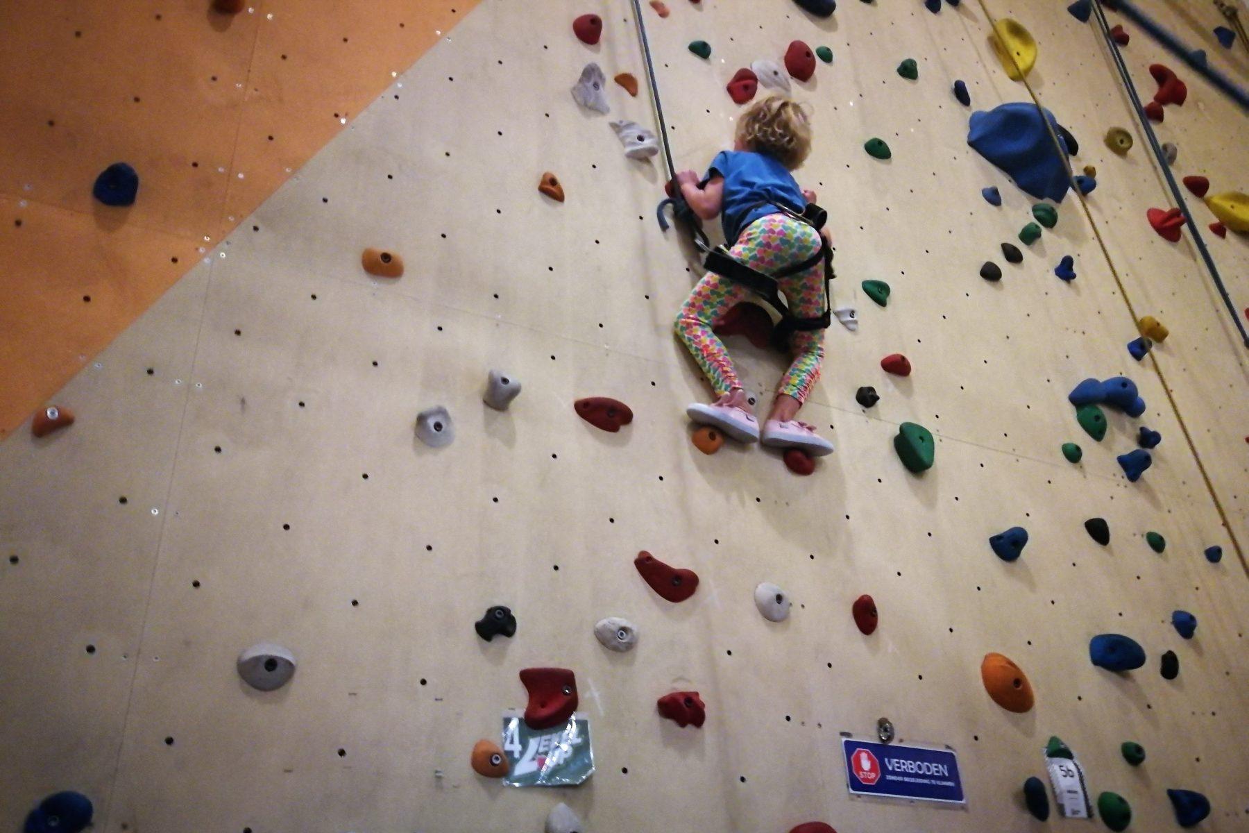 klimmen klimmuur